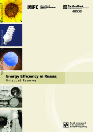 Energy Efficiency in Russia: Untapped Reserves