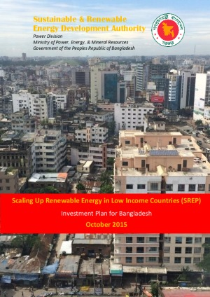 Scaling-up Renewable Energy Program (SREP) Investment Plan for Bangladesh
