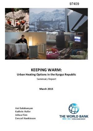Keeping Warm: Urban Heating Options in the Kyrgyz Republic