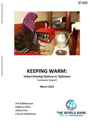 Keeping Warm: Urban Heating Options in Tajikistan