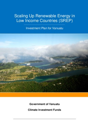 Scaling-Up Renewable Energy Program (SREP) Investment Plan for Vanuatu