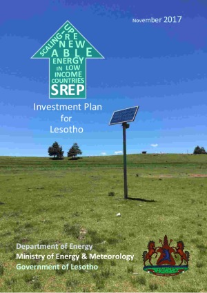 Investment Plan for Lesotho